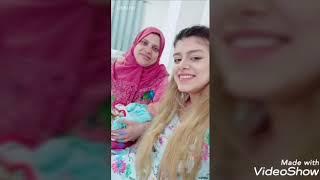 احمد حسن و زينب على اغنية تعالي