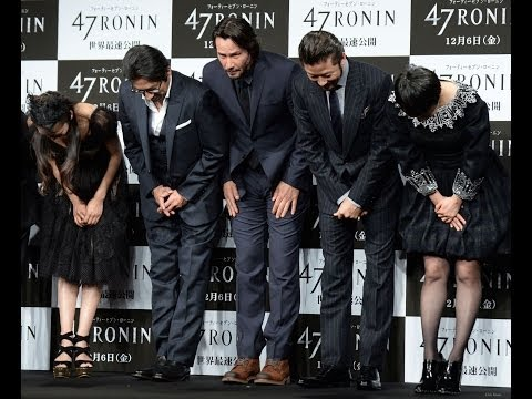 47 Ronin: Japan. Fashion Call, Group Photos and Press Conference