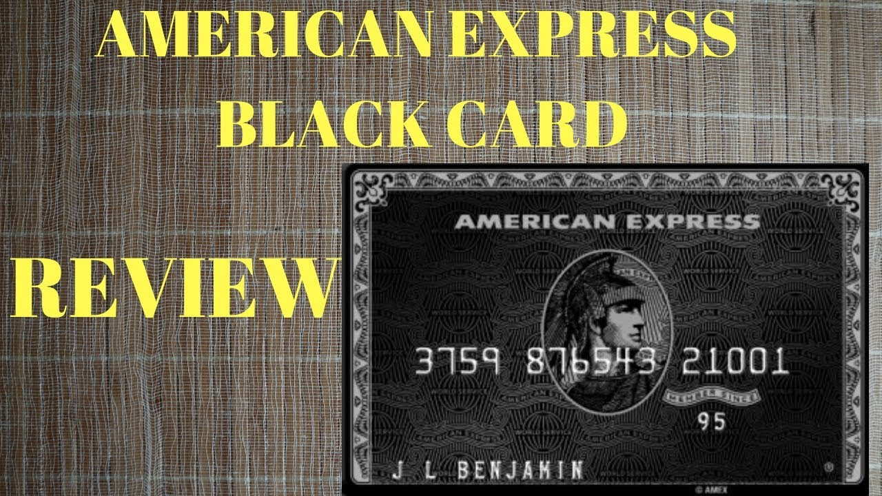 How to get the Amex Black Card | Storytime - YouTube