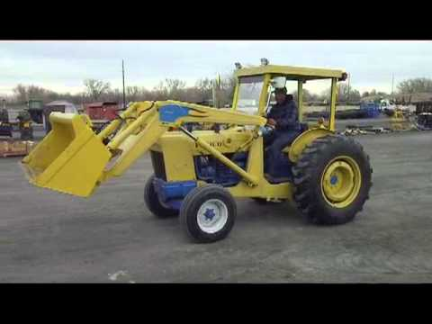 Ford 4500 Industrial Loader Tractor - YouTube
