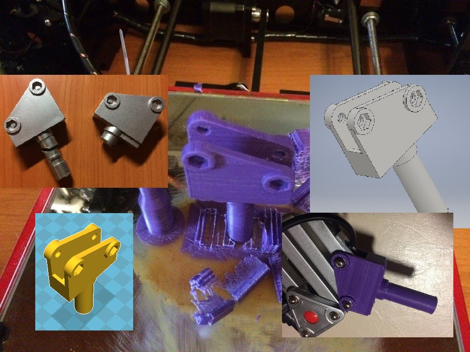 1. Как создать 3D модель и напечатать её на 3D принтере. От задумки до физического воплащения. ABS