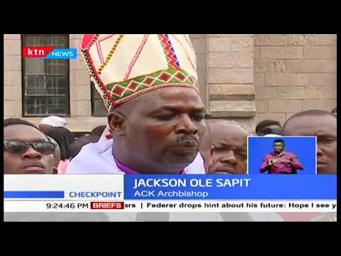 ACK Archbishop Jackson Ole Sapit calls for more action on the locust menace