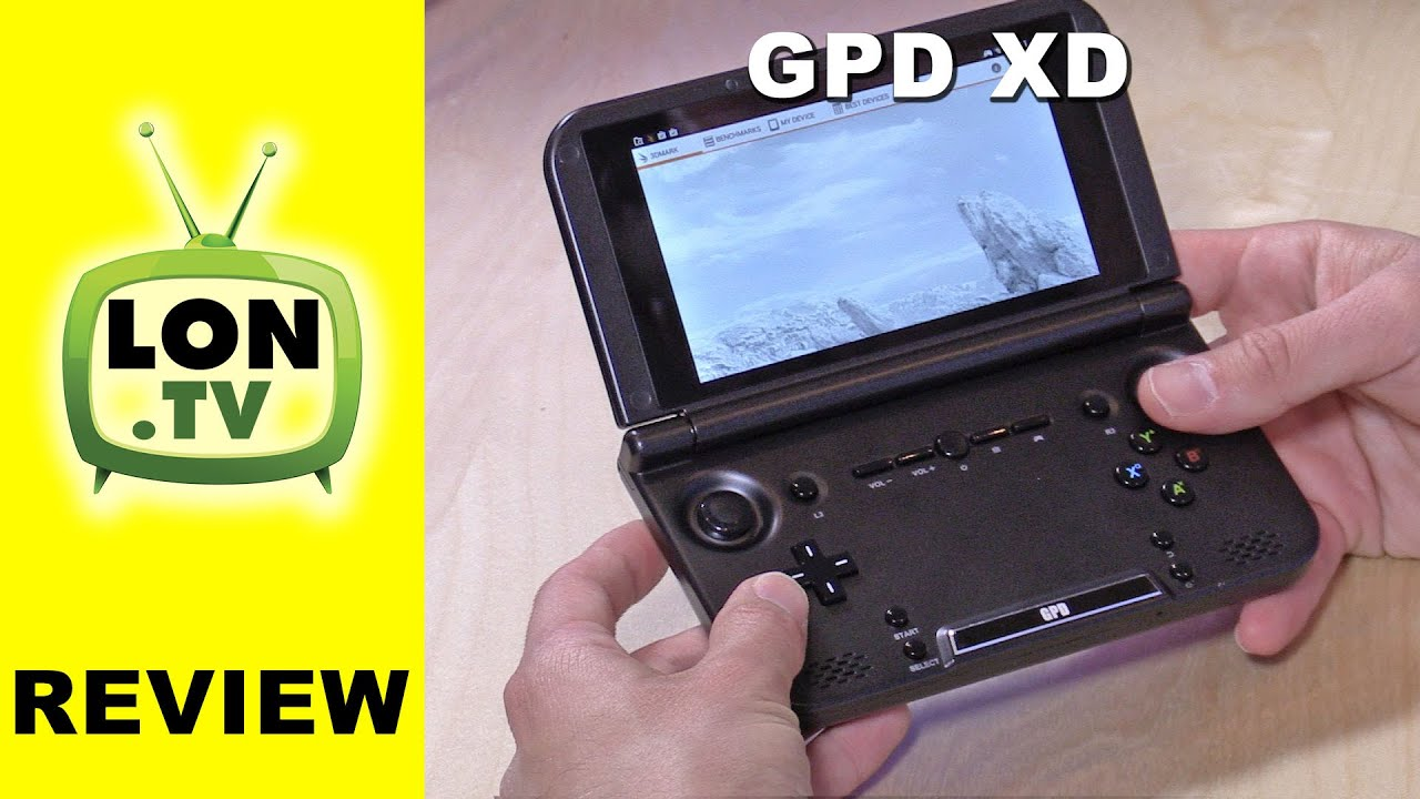 Portable Exhibition Game : Gpd xd android portable game console review with ips