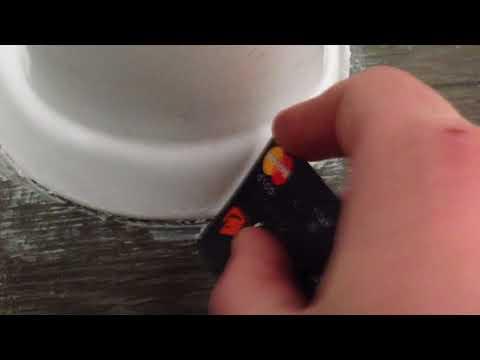 Как очистить застывший силикон