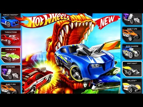 Hot Wheels : NEW Track, NEW Racer   Hot Wheels : Sports Car - The Best Car, Track - Video For KIDS