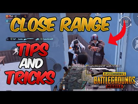 Close Range Tips And Tricks In PUBG MOBILE (BEST WAY TO IMPROVE YOUR CLOSE COMBAT SKLLS)