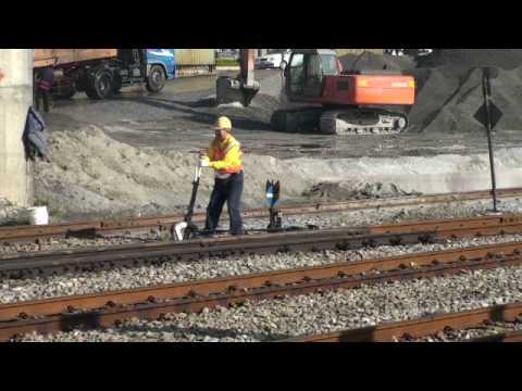 2008-12-04 08:52 鶯歌貨物線人工啟動轉轍器