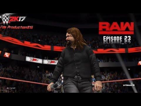 WWE 2K17 Monday Night Raw Story Mode Episode 23