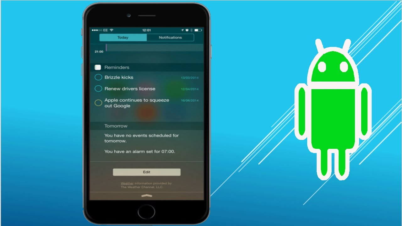 How to get ios like notifications on android