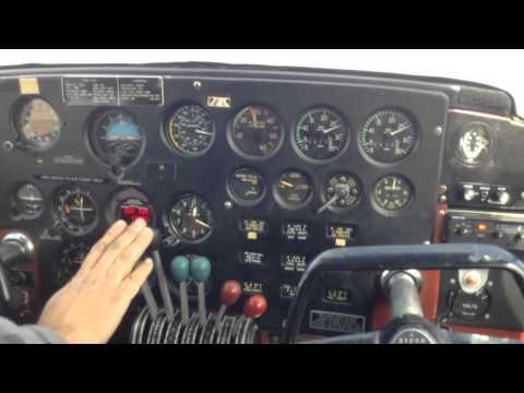 Piper PA-23 Apache Takeoff
