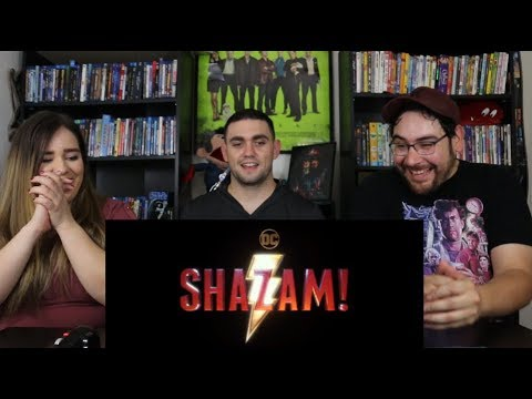 Shazam - SDCC Offical Trailer Reaction / Review