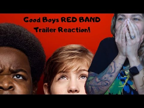 Good Boys Official Red Band Trailer REACTION and REVIEW!
