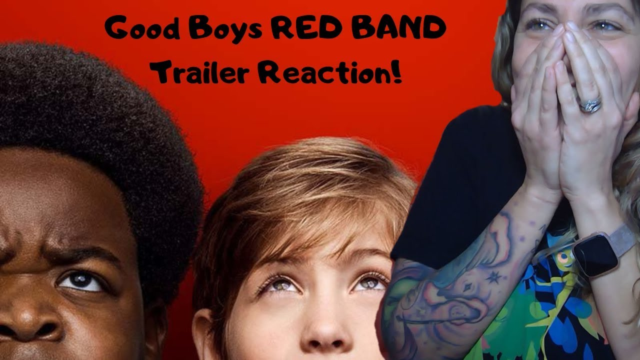 Download Good Boys Official Red Band Trailer REACTION and REVIEW!