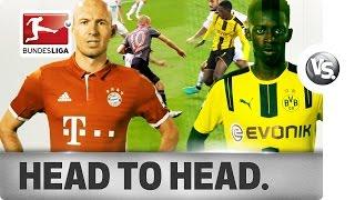 Dembélé vs. Robben - World-Class Wingers Go Head-To-Head