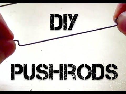Cheap RC Pushrods - DIY Instructions