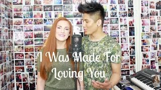 """I Was Made For Loving You"" - Tori Kelly ft Ed Sheeran Cover by Red & Mark Angels"