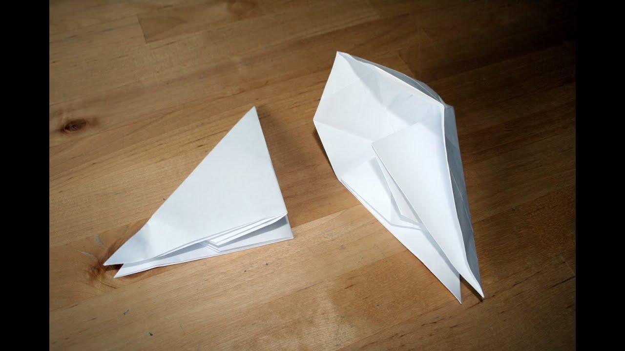 Origami tutorial banger youtube origami tutorial banger jeuxipadfo Image collections