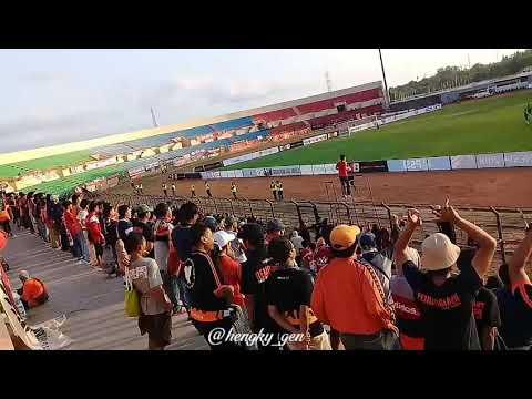 The Jakmania Beraksi Persikabo vs Persija di SSA Piala Indonesia