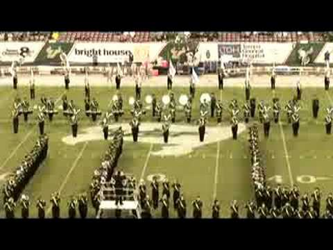 USF HOT Marching Band Herd of Thunder PreGame - VHVIDEO.COM