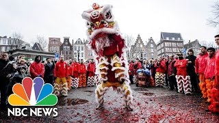 Lunar New Year Celebrated Around the World With Food, Fireworks, Family   NBC News