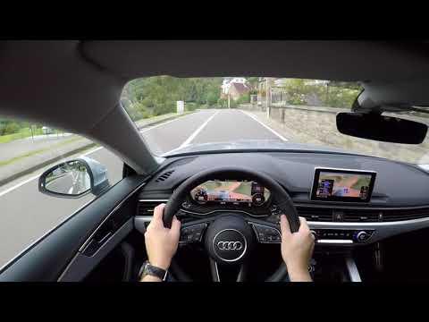 Audi A5 Sportback 2017 2.0 TDI 150 HP S Tronic - POV GoPro