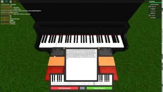Lavender Town Theme on a ROBLOX piano.