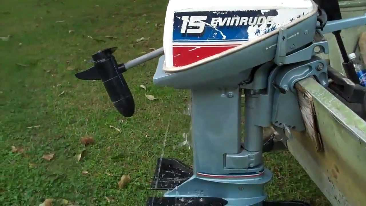 Evinrude 15 Hp >> Cold Start 15hp Evinrude