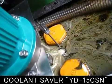 "Floating oil collecting system for CNC coolant liquid ""COOLANT SAVER"""