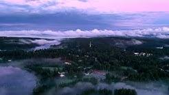 Rautalampi ilmasta - Kesää ja pilvee (4k30p)