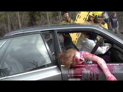 Texting Car Crash Commercial