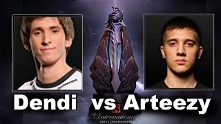 Dendi vs Arteezy 1v1 Solo The International 4 Dota 2(Subscribe http://bit.ly/noobfromua Dendi vs Arteezy 1v1 Solo Mid Championships Dota 2 The International 4., 2014-07-08T19:10:33.000Z)