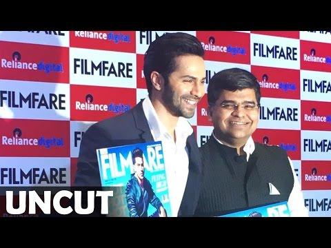 UNCUT - Varun Dhawan Launch Filmfare Magazine | August 2016 Issue