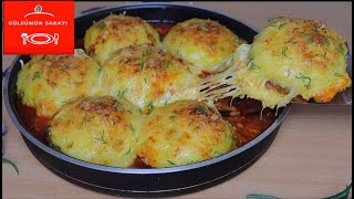 Very Tasty Recipes for Meatballs Potatoes / Addictive Dinner DINNER / 5th