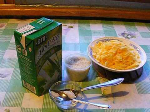 Каша молочная с рисом и тыквой в мультиварке