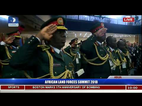 African Land Forces Summit Holds In Abuja Pt.6 |Live Coverage|