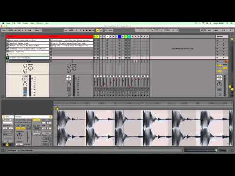 Introduction to Creating a Studio DJ Mix in Ableton Live - Warping