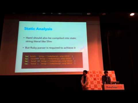 High Performance Template Engine: Guide to optimize your Ruby code - RubyKaigi 2015