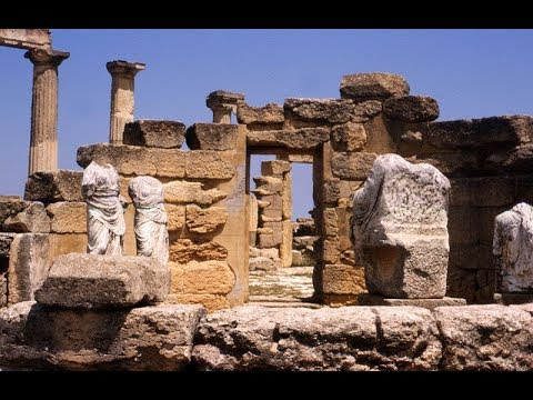 Archaeological Site of Cyrene / Tourist Destination Libya