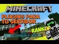 Minecraft: Plugins para tu Servidor - RankUp (Sube de Rango con Dinero!)