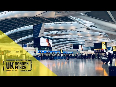 UK Border Force - Season 1, Episode 6: Routine Passport Check Doesn't Go As Planned...