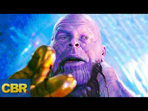 What Nobody Realized About This Thanos Scene In Avengers Endgame