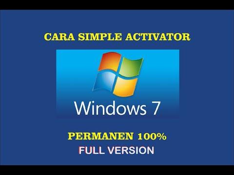 Cara Gampang Aktivasi Windows 7 Full Version -Permanen 100%