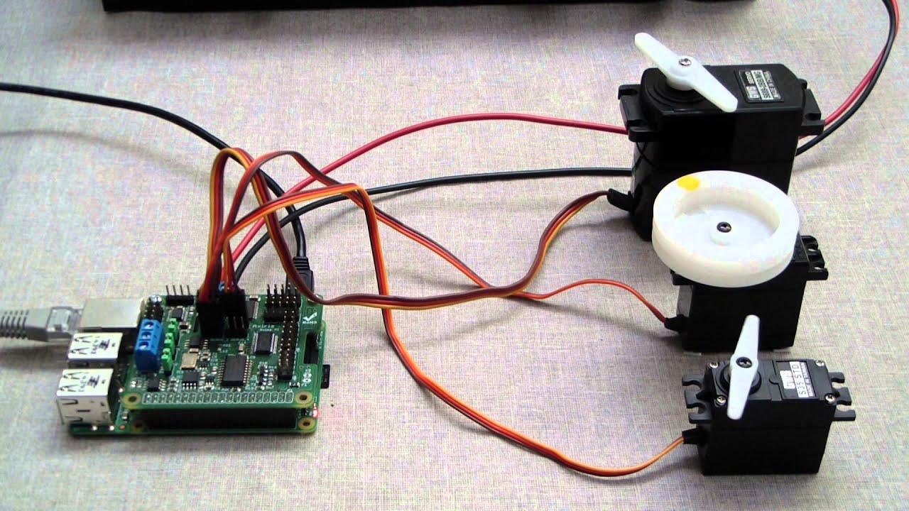 Controlling multiple servos using a Raspberry Pi