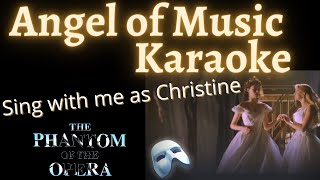 Video Angel of Music Karaoke (Meg only) Sing with me download MP3, 3GP, MP4, WEBM, AVI, FLV Mei 2018