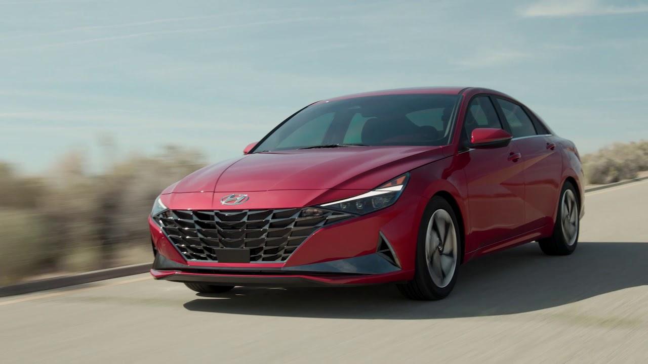 2021 Hyundai Elantra and Elantra Hybrid | Interior, Exterior, Rolling | Manufacturer Broll