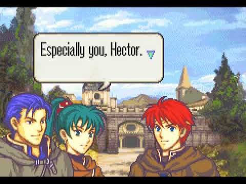 Lyn Ships Eliwood and Ninian