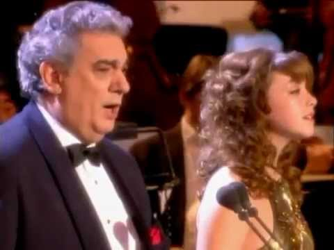Charlotte Church and Placido Domingo - Oh Holy Night, Live