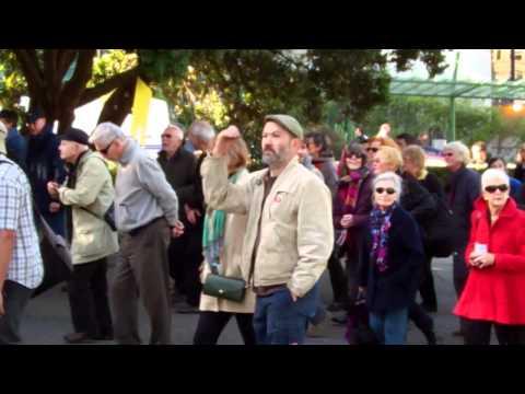 TVNZ7 Funeral Procession - Parliament [2]