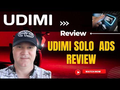 UDIMI Solo Ads 2021. Solo Ads for affiliate marketing guide.