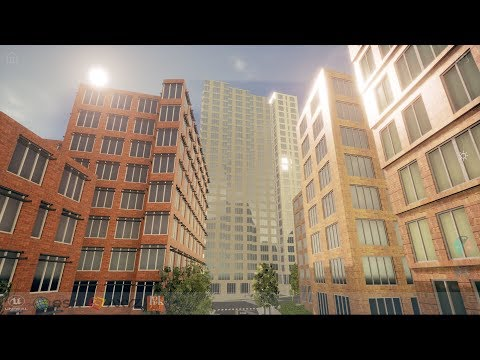 Unreal and CityEngine: The Future of Urban Design Visualization
